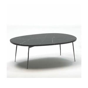 Konferenční stolek s mramorovou deskou Thai Natura Loes, délka100cm