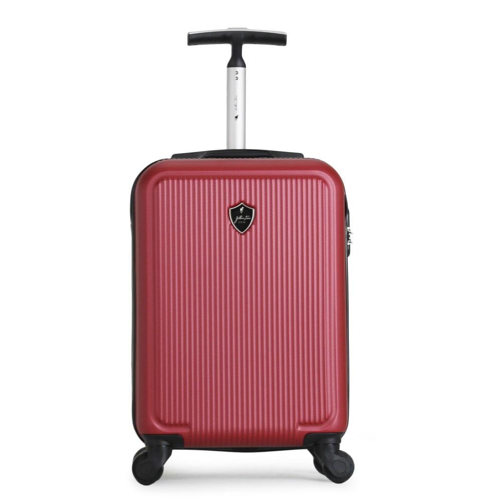 Červený cestovní kufr na kolečkách GENTLEMAN FARMER Marbo Valise Cabine, 37 l