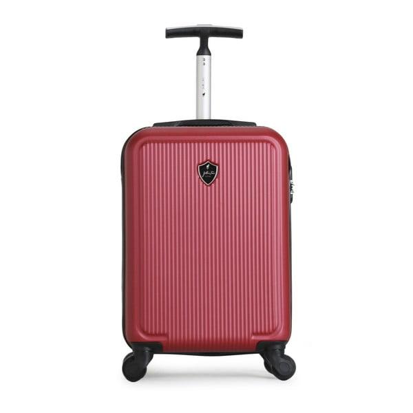 Červený cestovný kufor na kolieskach GENTLEMAN FARMER Marbo Valise Cabine, 37 l