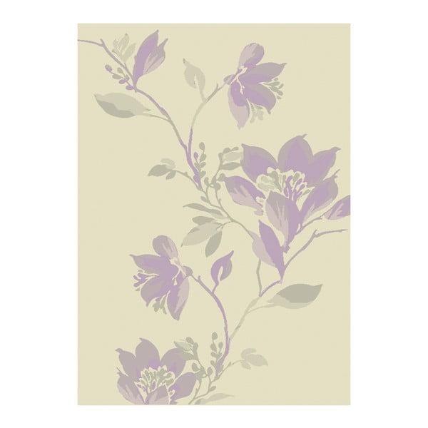 Koberec Asiatic Carpets Focus Mauve Floral, 120x170 cm