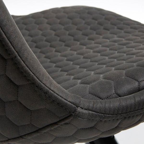 Sada 4 černých židlí s dřevěnými nohami La Forma Lars