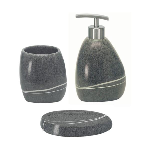 Koupelnový set Stones Grey