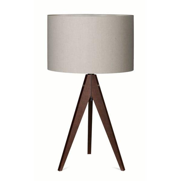Stolní lampa Artist Birch Dark Brown/Grey