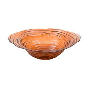 Oranžová mísa z recyklovaného skla Mauro Ferretti Now