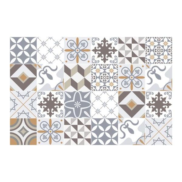 Set autocolante Ambiance Tiles Beige, 24 buc.
