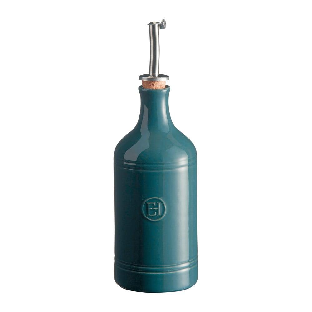 Makově modrá láhev na olej Emile Henry, objem 400 ml Emile Henry