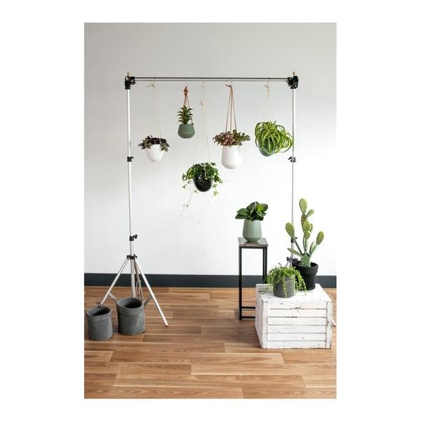 Zelený keramický závěsný květináč PT LIVING Burly