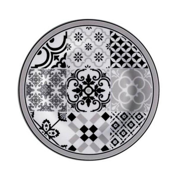 18dílný set servírovacích procelánových talířů Brandani Alhambra