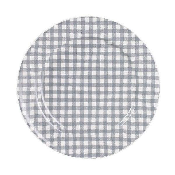 Keramický talíř Marikere Grey, 17 cm