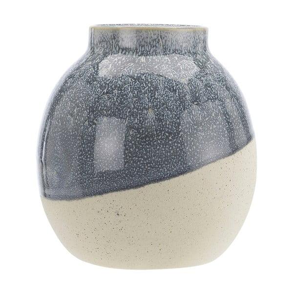 Vază din ceramică A Simple Mess Skraa, ⌀ 18 cm, albastru