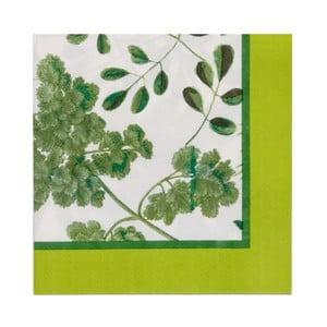 Sada 20 papírových ubrousků Ulster Weavers Foliage