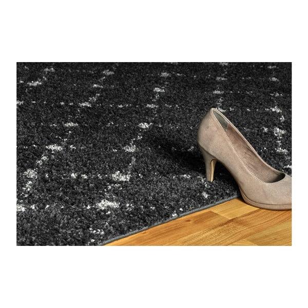Černý koberec Obsession My Manhatten Anth, 120 x 170 cm