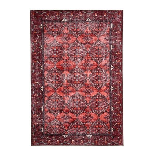 Červený koberec Floorita Bosforo, 120 x 180 cm