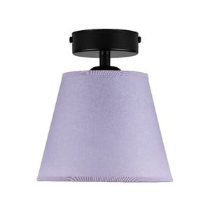 Světle fialové stropní svítidlo Sotto Luce IRO Parchment, ⌀16cm
