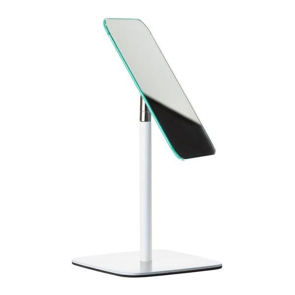 Bílé stolní kosmetické zrcadlo Zone