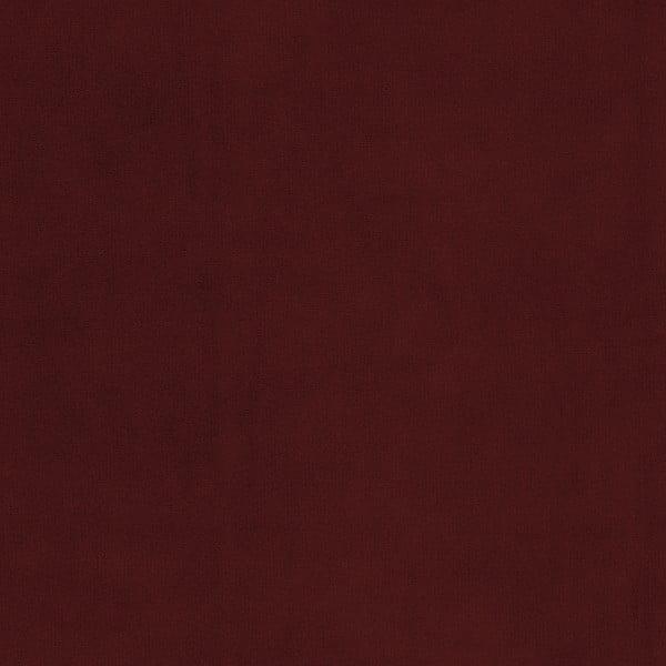 Tmavě červené křeslo Vivonita Portobello