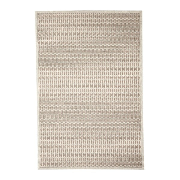 Světle hnědý venkovní koberec Floorita Stuoia, 194 x 290 cm