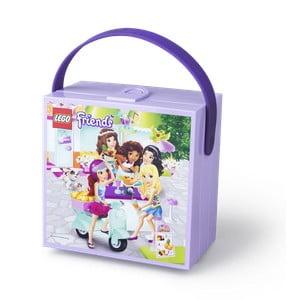Cutie depozitare cu mâner LEGO® Friends, mov
