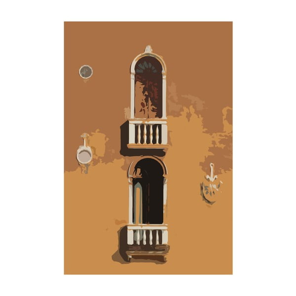 Obraz Benatky 19, 30x20 cm