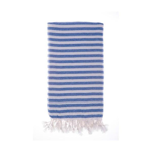 Hamam osuška Marmaris Blue 100x180 cm