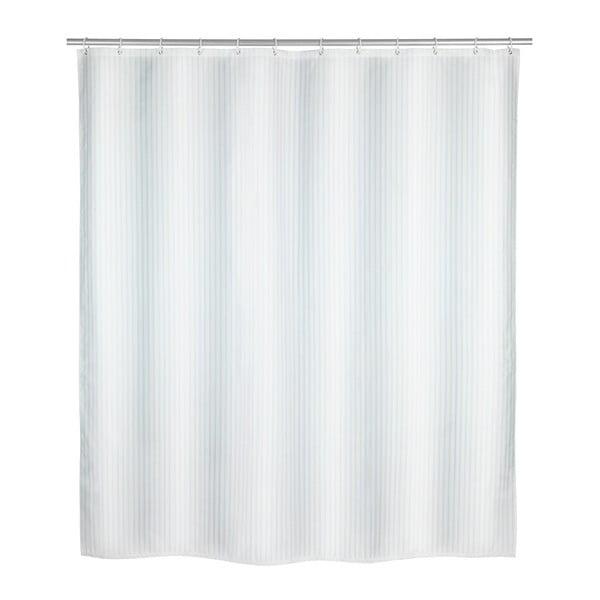 Perdea duș Wenko Palais, 180 x 200 cm, alb