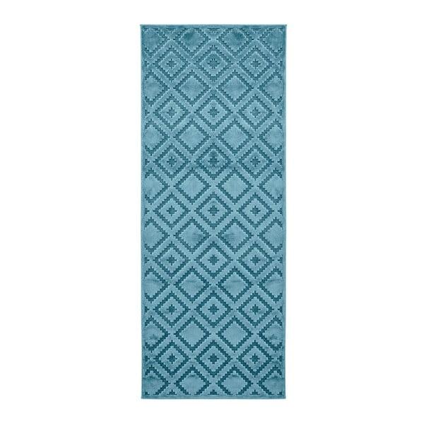 Covor Mint Rugs Shine, 80 x 250 cm, albastru