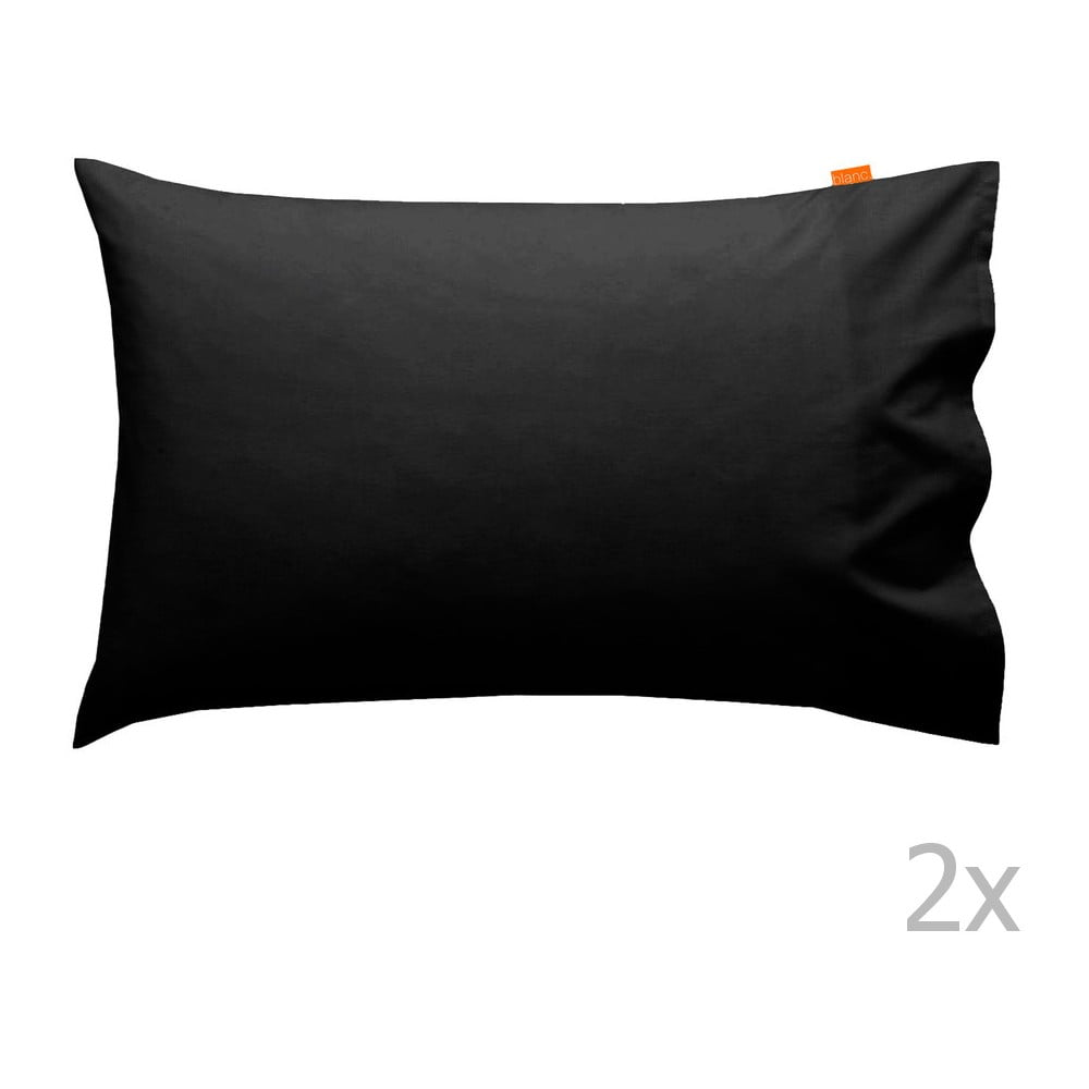 sada 2 ern ch povlak na pol t hf living basic 50 x 80 cm bonami. Black Bedroom Furniture Sets. Home Design Ideas