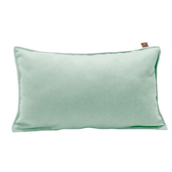 Mentolově zelený polštář OVERSEAS Felt,30x50cm