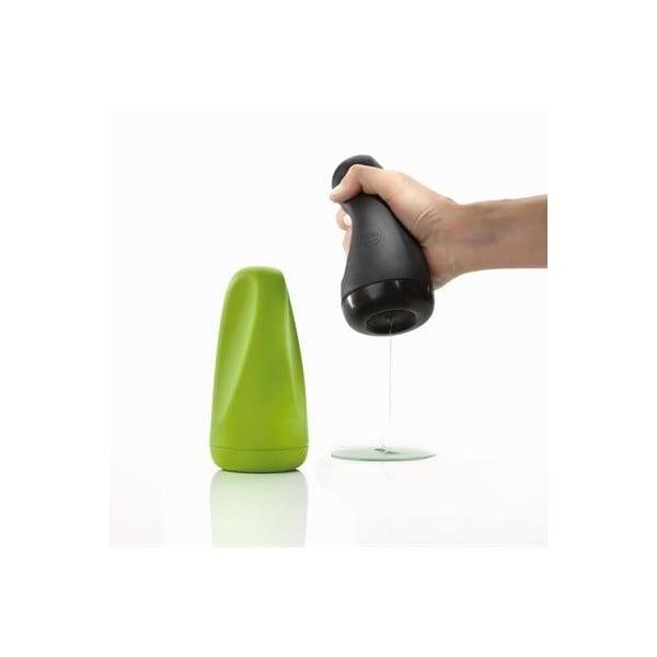 Silikonový dávkovač mýdla, černý