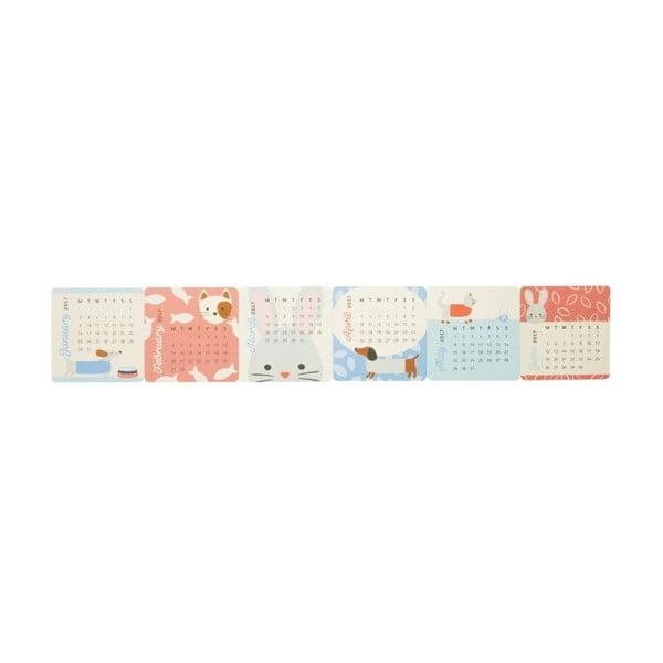 Mini stolní kalendář Busy B Cute 2017