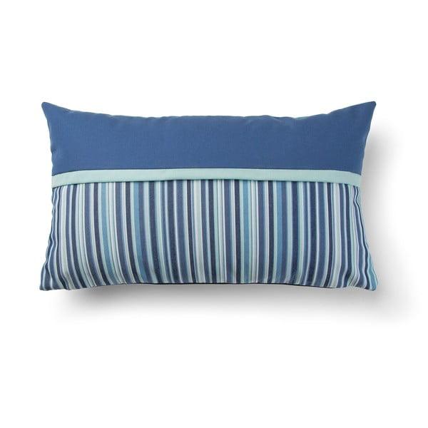 Blue Stripes kék párnahuzat, 30 x 50 cm - La Forma