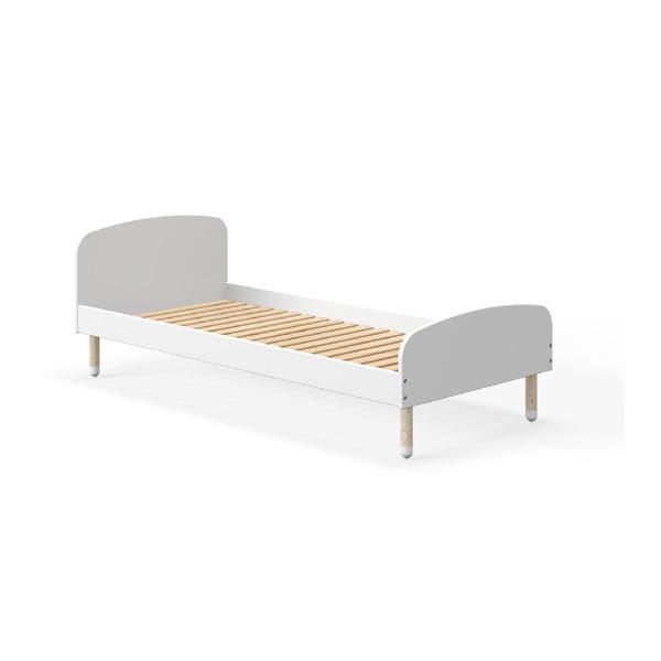 Biela detská posteľ Flexa Play, 90 x 190 cm