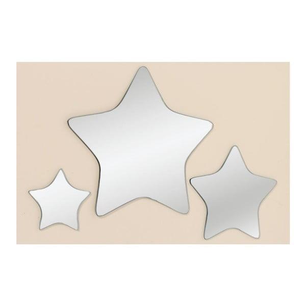 Sada 3 zrcadel Trio Star