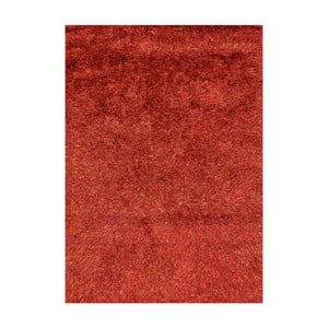 Oranžový koberec s dlouhým vlasem Linie Design Sprinkle, 160x230cm