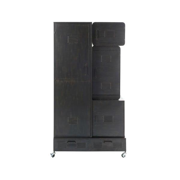 Skříň na kolečkách Gauze, výška 175 cm