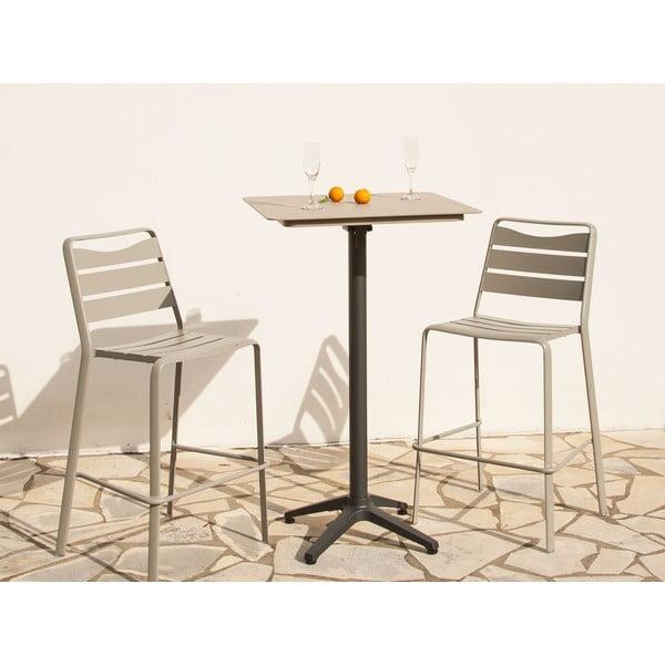 Set 2 zahradních barových židlí a stolku Ezeis Spring