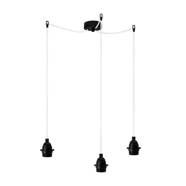 Tři závěsné kabely Uno Basic, černé
