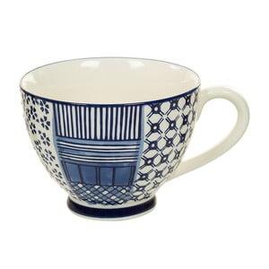Modrobílý porcelánový šálek Santiago Pons Meknec