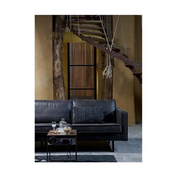 Černý koberec z juty De Eekhoorn Scenes, 140x70cm