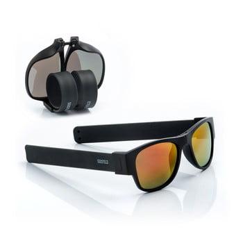 Ochelari de soare pliabili InnovaGoods Sunfold ES2, negru - portocaliu de la InnovaGoods