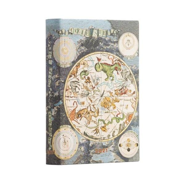 Kalendarz na rok 2021 Paperblanks Celestial Planisphere
