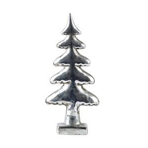 Dekorativní stromek KJ Collection Silver, 22 cm