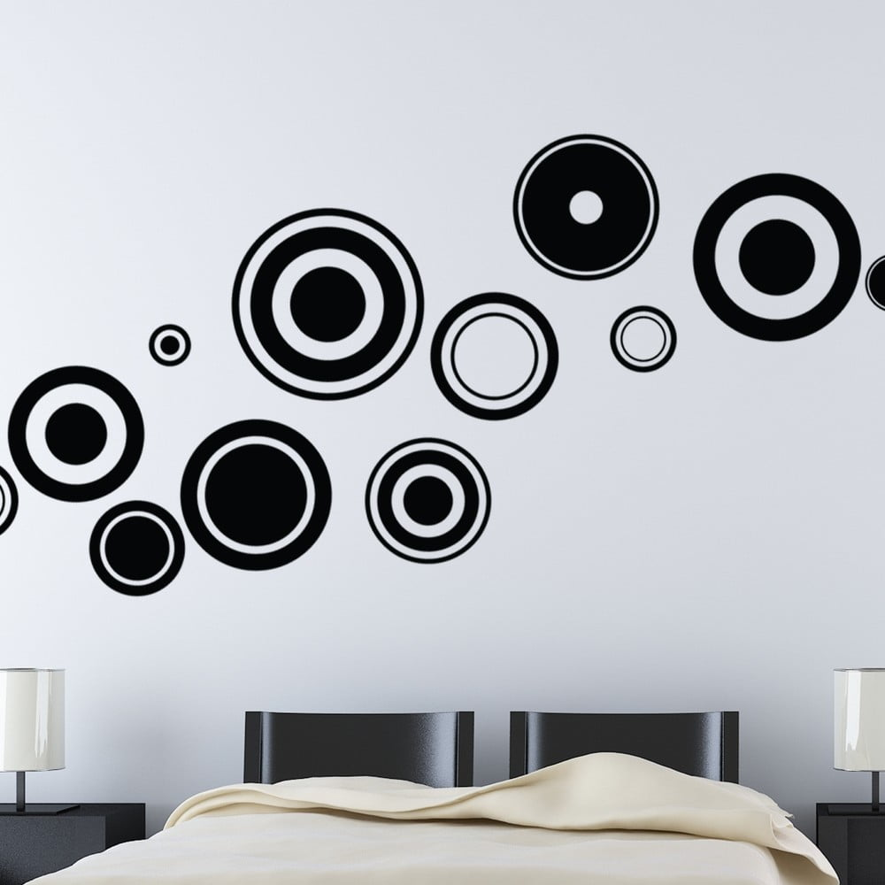 Autocolant Ambiance Design Circles Bonami