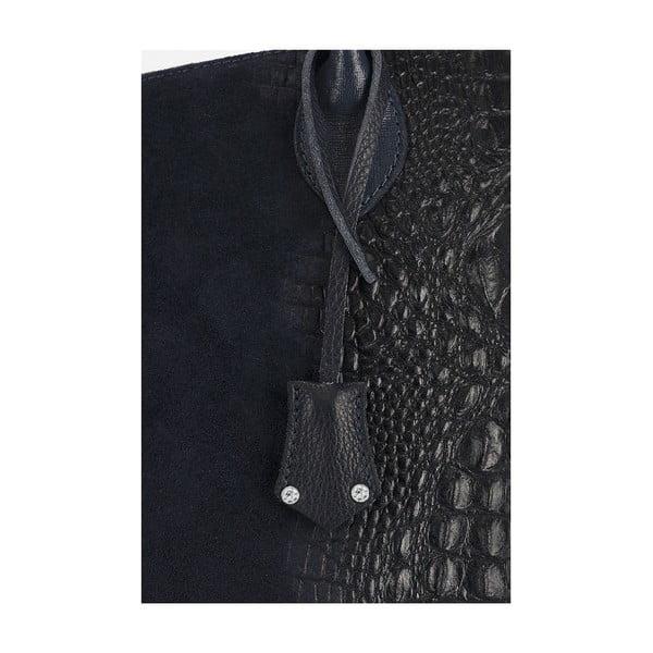 Kožená kabelka Giorgio Costa 15016 Black