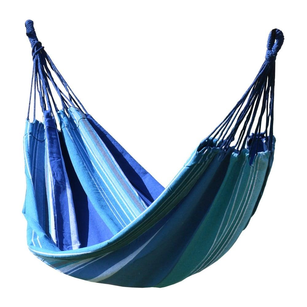 Modro-bílá houpací síť Cattara Textil