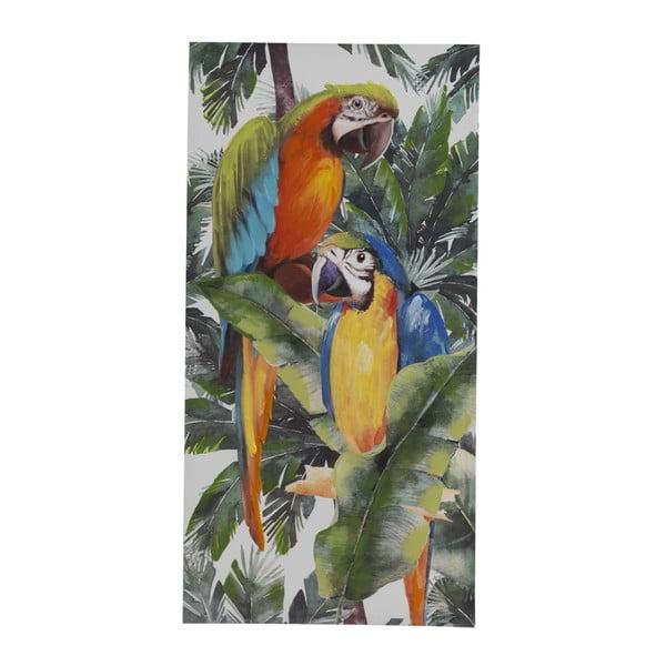 Pictură pe pânză Geese Modern Style Parrot Tres, 60 x 120 cm