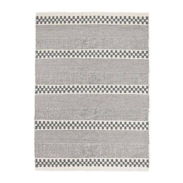 Vlněný koberec Selma Grey, 160x230 cm