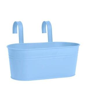 Modrý závěsný truhlík Butlers Zinc
