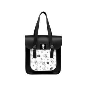 Kožená kabelka Rosemont Black/Bug