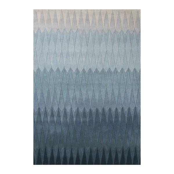 Vlněný koberec Acacia Blue, 200x300 cm
